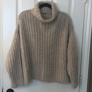 BRAND NEW FREE PEOPLE PEARL KNIT SWEATER SIZE XS